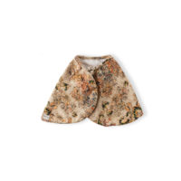 BR BURB-CLOTH-QUILTED-FLORAL-BACK-CUT-OUT-&-BACK