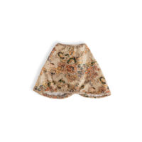 BR BURB-CLOTH-QUILTED-FLORAL-FRONT-CUT-OUT-&-BACK